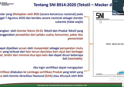 Masker Kain Ber-SNI, Peluang Usaha di Masa Pandemi