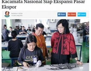 Kacamata Nasional Siap Ekspansi Pasar Ekspor