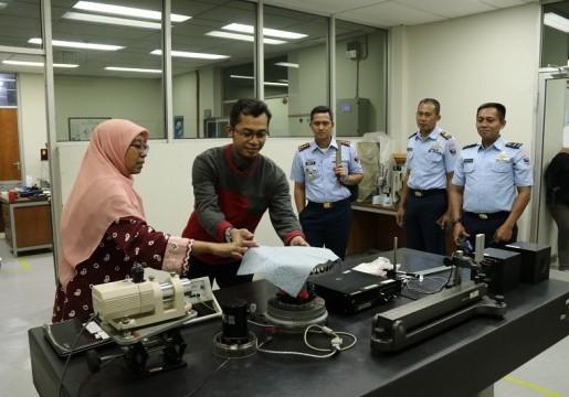 BSN Terima Kunjungan Sathar 22 Depohar 20 TNI AU