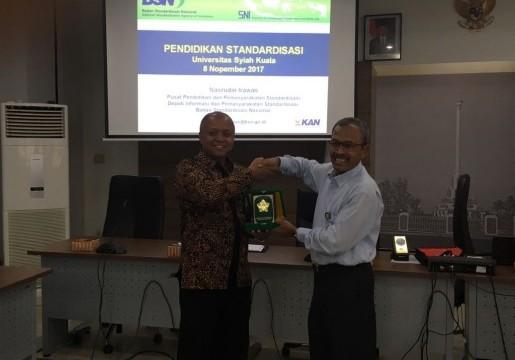 Pendidikan Standardisasi di Universitas Syiah Kuala