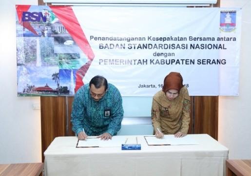 Sinergi BSN dan Pemerintah Kabupaten Serang Dalam Penerapan SNI