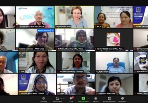 SNSU-BSN berperan serta dalam Asia Pacific Rapid Diagnostic Toolkit Kick-off Workshop
