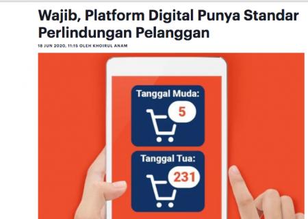 Platform Digital Harus Punya Standar Perlindungan Pelanggan