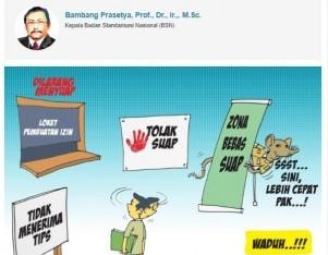 Mencari Benchmarking Pemberantasan Korupsi Melalui Pencegahan 'Suap'