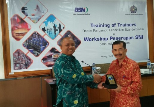 Universitas Muhammadiyah Malang Antusias untuk Mengajarkan Pendidikan Standardisasi