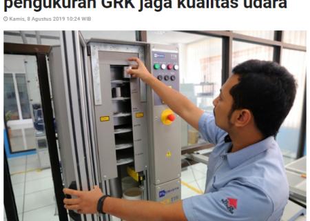 BSN Kembangkan Standar Nasional Pengukuran GRK Jaga Kualitas Udara