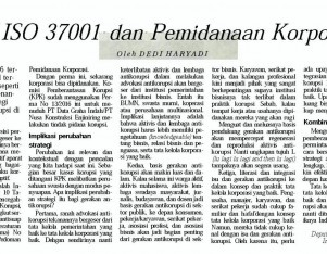SNI ISO 37001 dan Pemidanaan Korporasi