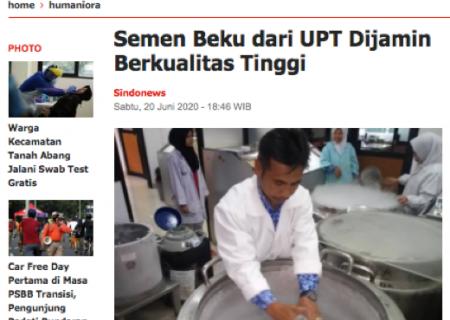 Semen Beku dari UPT Dijamin Berkualitas Tinggi
