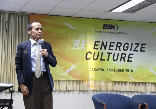BSN Selenggarakan Motivasi Perubahan Budaya Kerja