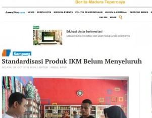 Standardisasi Produk IKM Belum Menyeluruh