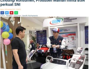 Lindungi Konsumen, Produsen Mainan minta BSN perkuat SNI