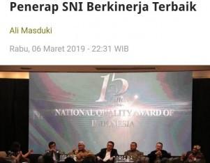BSN Siapkan Penghargaan Penerap SNI Berkinerja Terbaik