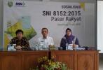 Gandeng Kemendag, BSN Sosialisasikan SNI Pasar Rakyat di Palembang