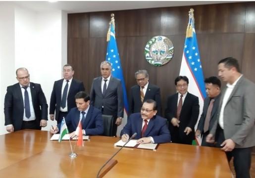 Penandatanganan Perjanjian Kerja Sama BSN – UZSTANDARD