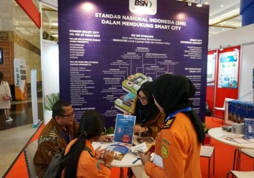 SNI Smart City menjadi Daya Tarik Tersendiri di IISMEX 2019 Hari ke-2