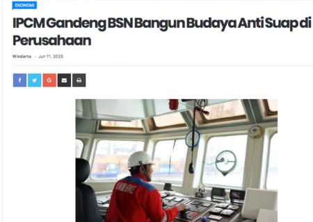IPCM Gandeng BSN Bangun Budaya Anti Suap di Perusahaan