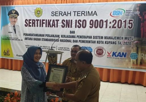 BSN Dukung Pemkot Kupang Menjadi Role Model Penerapan SNI di Indonesia Timur