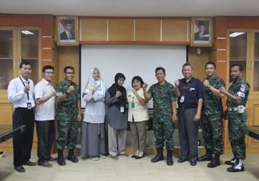 Dinas litbang TNI AD Kunjungi Laboratorium SNSU