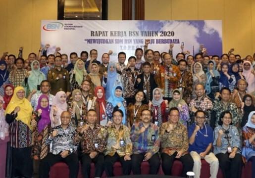 Raker BSN 2020 : Mewujudkan SDM BSN yang Maju Berbudaya TOP BGT
