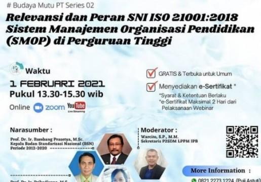 Relevansi dan Peranan SNI ISO 21001:2018 terhadap Perkembangan Organisasi Pendidikan