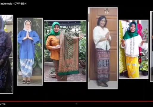 Kenalkan Indahnya Kain Nusantara, Tim DWP BSN Juarai Lomba Vlog Kearifan Lokal Nusantara