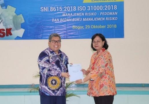 BSN Melaunching SNI 8615:2018 ISO 31000:2018