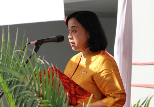 Sestama BSN Pimpin Upacara Peringatan Hari Ibu