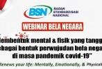 BSN Tanamkan Perilaku Bela Negara Dimulai dari Kesehatan Fisik dan Mental