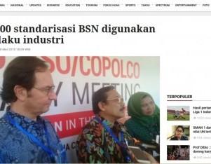 9.700 standarisasi BSN digunakan pelaku industri