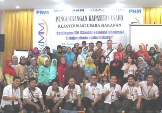 PNM Palembang Siap Fasilitasi Sertifikasi SNI UKM Mitra