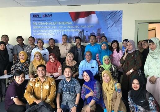 KLT BSN Makassar mengadakan bimbingan teknis pelatihan audit internal bagi stakeholder di SulSel