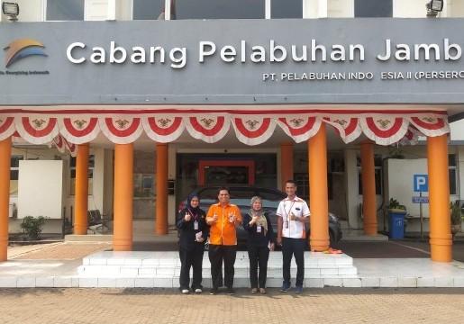 PT Pelabuhan Indonesia II (IPC) Cabang Jambi pun ikut serta dalam ajang SNI Award 2019