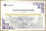 BSN Raih Penghargaan dari Kemenkeu atas Kinerja Anggaran 2020