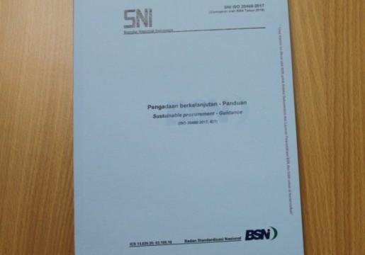 BSN Tetapkan SNI ISO 20400 Pengadaan berkelanjutan untuk Dukung Perpres Pengadaan Barang /Jasa Pemerintah