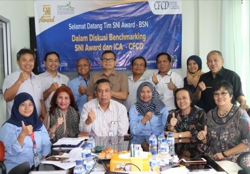 BSN Lakukan Benchmarking SNI Award dengan ICA - CFCD
