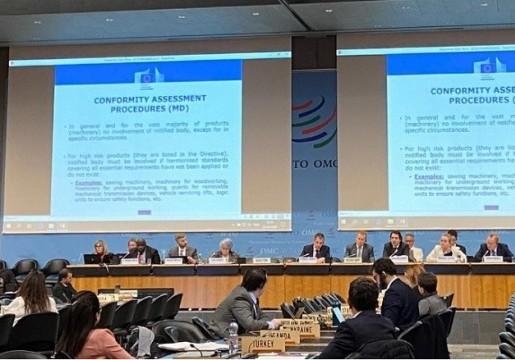 "Penggunaan ""National Quality Infrastructure (NQI)"" oleh Regulator untuk mengurangi Hambatan Teknis Perdagangan   Thematic Session - TBT WTO Meeting, 12-13 November 2019"