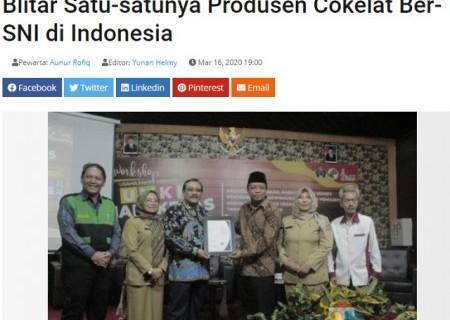 Jadi Ikon Jawa Timur, Kampung Coklat Blitar Satu-satunya Produsen Cokelat Ber-SNI di Indonesia
