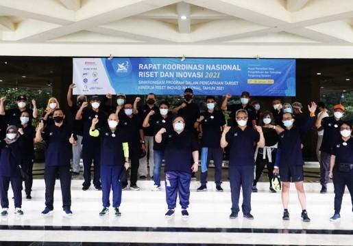 Kepala BSN Ikuti Jalan Sehat Penutup Rangkaian Rakornas Riset dan Inovasi 2021