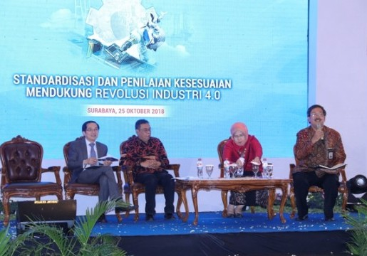 Standardisasi dan Penilaian Kesesuaian Dukung Revolusi Industri 4.0