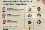 SNI Tingkatkan Mutu Batik, Identitas Nusantara yang Diakui Pasar Global