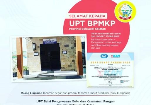 Lembaga Sertifikasi Organik Terakreditasi Pertama di Indonesia Timur