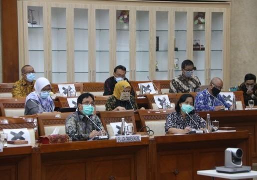 Rapat Dengar Pendapat BSN dengan Komisi VI DPR RI