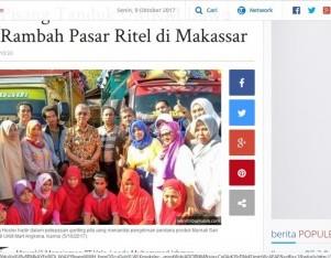 Kripik Pisang Tanduk Umkm Luwu Timur Rambah Pasar Ritel Di Makassar