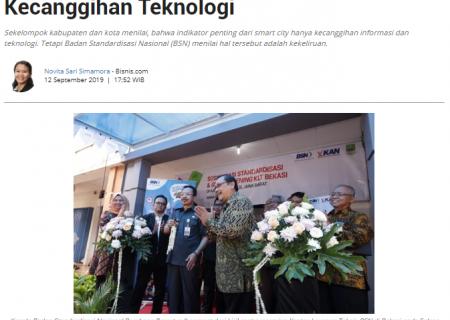 BSN : Smart City Tak Hanya Soal Kecanggihan Teknologi