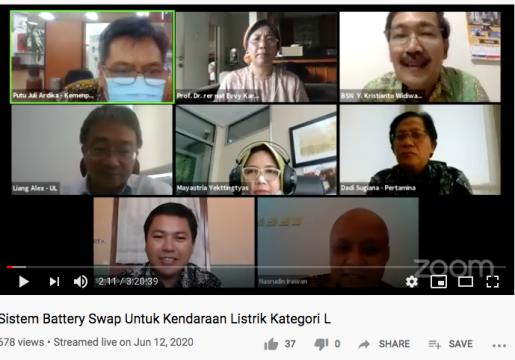 SNI Battery Swap Mendukung Kemajuan Kendaraan Listrik Indonesia