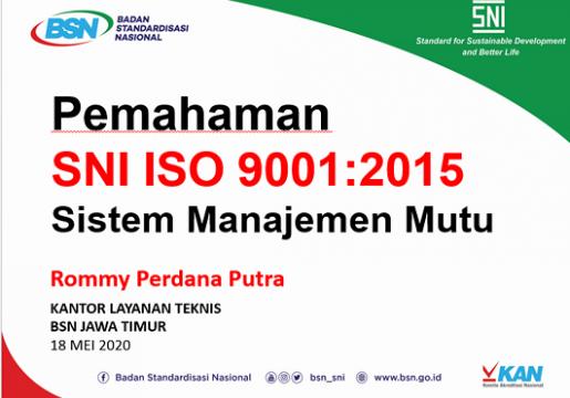 UBAYA dan BSN Selenggarakan Pemahaman SNI ISO 9001:2015
