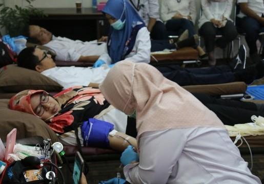 Bakti Sosial Donor Darah Dalam Rangka HUT BSN Ke-22