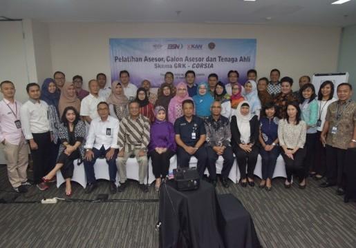 Pelatihan Asesor, Calon Asesor dan Tenaga Ahli Skema Gas Rumah Kaca (GRK) untuk program CORSIA