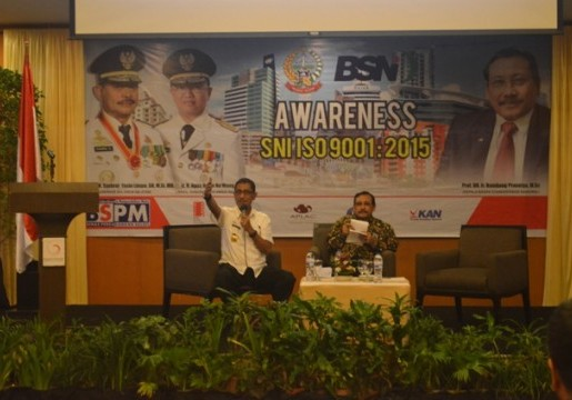 BSN Adakan Awareness SNI ISO 9001:2015