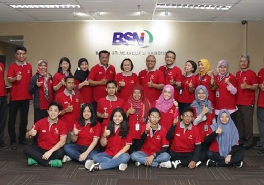 BSN Dampingi Pelajar Indonesia Ikuti Olimpiade Standar Tingkat Dunia